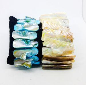 Set of abalone bracelets